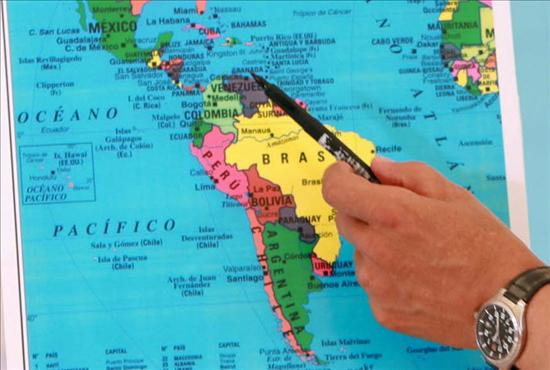 Islas Malvinas Mapa Mundi.Argentina Pide A Bolivia Retirar El Mapa Que Muestra A