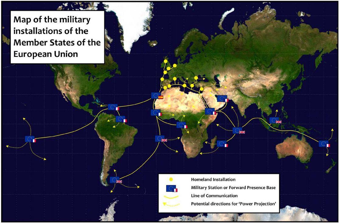 La UE quiere bases militares en Argentina