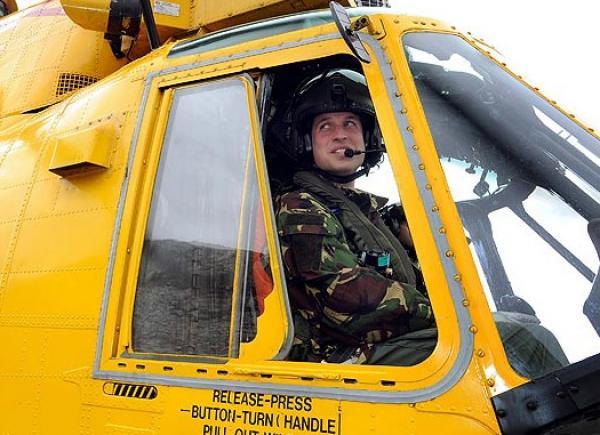 El príncipe William prestará servicio en Malvinas