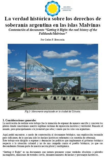 Documento histórico sobre las Islas Malvinas Portada_bresc